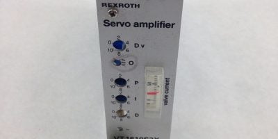 REXROTH SERVO AMPLIFIER VT1610S3X (F28) 1
