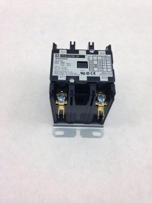 SQUARE D 8910DPA32V02 DEFINITE PURPOSE CONTACTOR (F153) 1