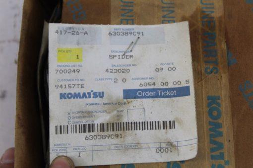 Komatsu 630389c91 Spider Universal Joint 2520-00-847-2970 *NEW* (B245) 1