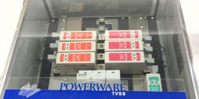 NEW IN BOX EATON PT18204ZONE MASTER POWERWARE TVSS 277/480V SURGE 3PH, (TLO) 1