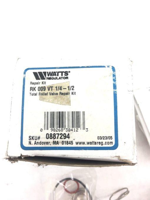 "WATTS REGULATOR 0887294 TOTAL RELIEF VALVE KIT, 1/4 – 1/2"" RK 009 VT, (H306) 2"