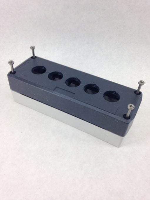 PUSHBUTTON ENCLOSURE, SCHNEIDER ELECTRIC, XALD05 HARMONY (H334) 1