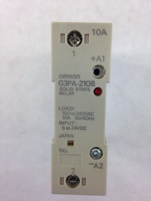 OMRON SOLID STATE RELAY G3PA-210B 5-24VDC (H334) 2