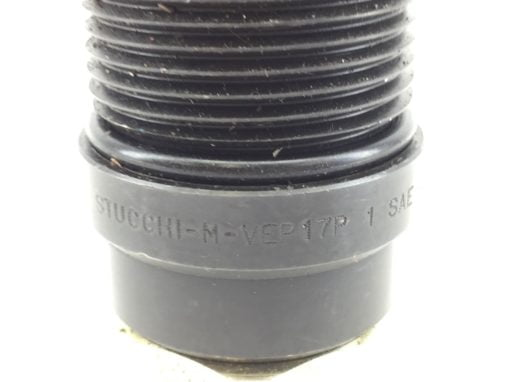 NNB! STUCCHI M-VEP17P-1-SAE-A07 THREADED FLAT-FACE COUPLING FAST SHIP!!! (A212) 2