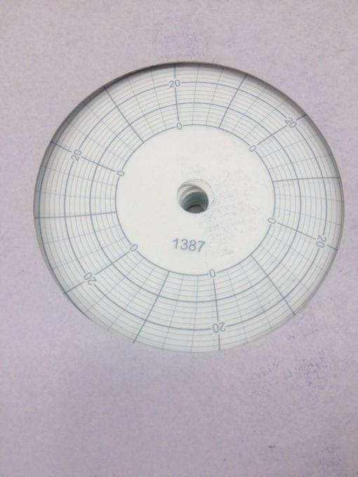 # 1387 CIRCULAR RECORD CHARTS 01123 CSCH23 (H74) 3