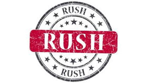 Repair Your Equipment Rush Service